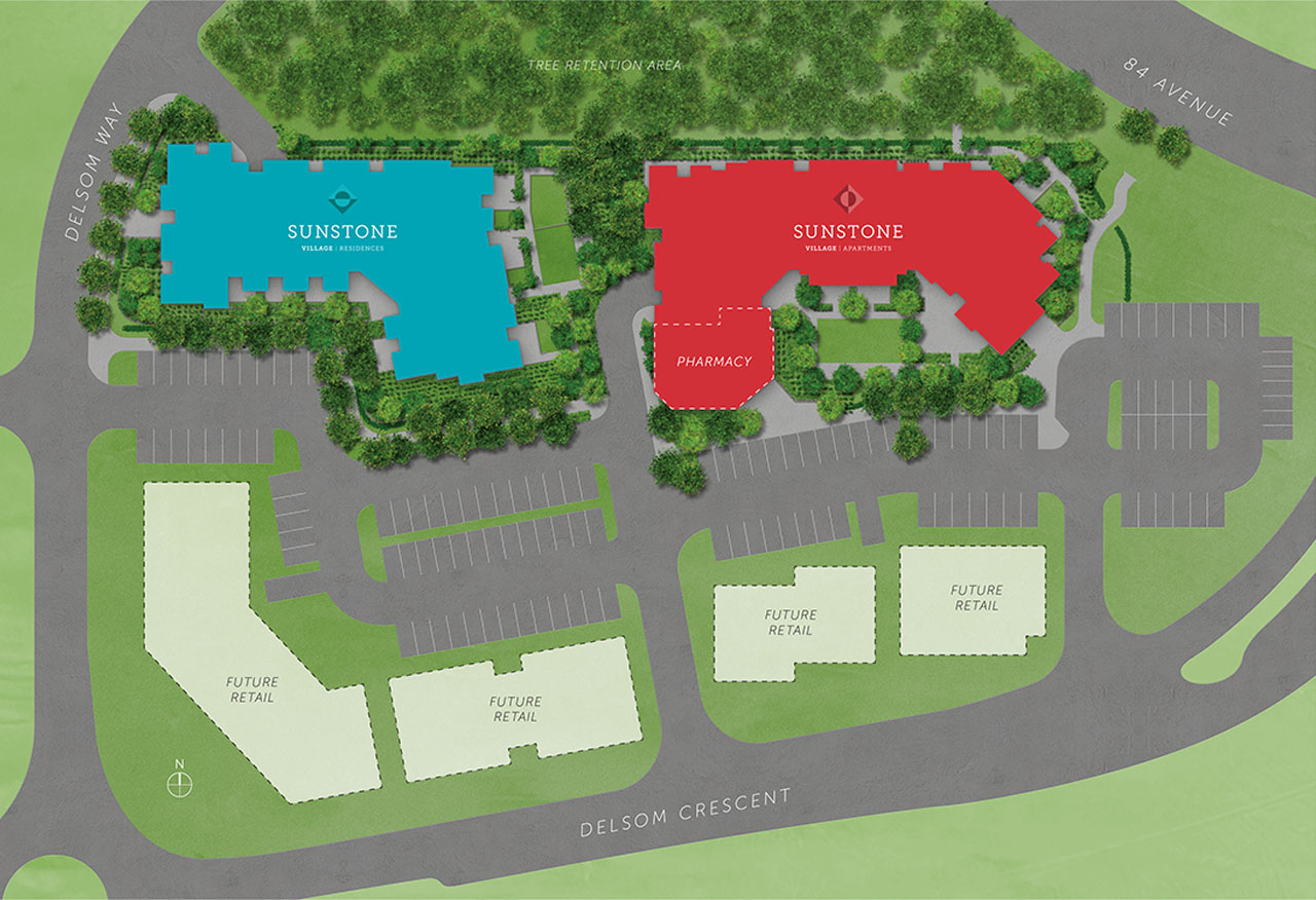 Sunstone Village Siteplan